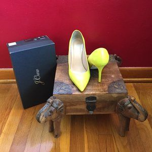 J. Crew Smooth Leather Pumps size 8.5